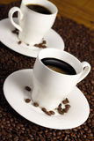 Coffee Cups Royalty Free Stock Photo