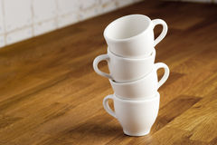Coffee cups. Royalty Free Stock Images