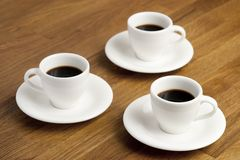 Coffee cups. Stock Photography