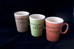 Coffee cups Royalty Free Stock Photos