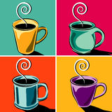 Coffee Cups royalty free illustration