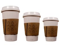 Free Coffee Cups Royalty Free Stock Photo - 634595