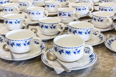 Coffee cups. Stock Image