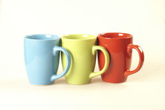 Coffee cups. Close up Royalty Free Stock Photos