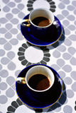 Coffee cups with coffee Stock Image