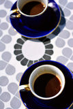 Coffee cups with coffee Royalty Free Stock Image