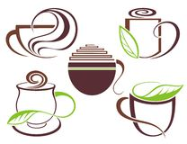 Coffee cups design Royalty Free Stock Image