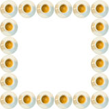 Coffee cups frame Stock Photography