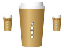 A coffee cups Stock Images