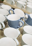 Coffee cups for sale Royalty Free Stock Photo
