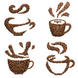 Coffee cups. Stock Images