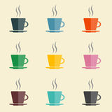 Coffee cups Royalty Free Stock Images
