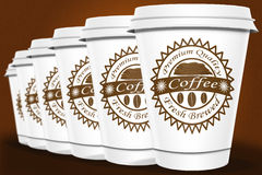 Coffee Cups Royalty Free Stock Photography