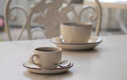 The Coffee cups Royalty Free Stock Photography