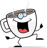 Coffee Dancing Royalty Free Stock Photography