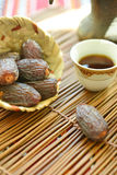 Coffee and dates Royalty Free Stock Photography