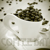 Coffee day Royalty Free Stock Image