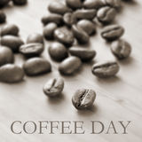 Coffee day Stock Images