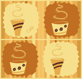 Coffee Design Stock Photos