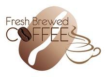 Coffee Design Fresh Brewed Bean Royalty Free Stock Photo