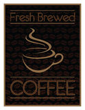 Coffee Design Fresh Brewed Royalty Free Stock Photography