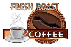 Coffee Design Fresh Roast Royalty Free Stock Image