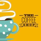 Coffee design Stock Image