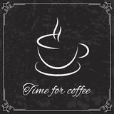 Coffee design  for menu Royalty Free Stock Image