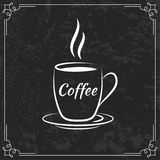 Coffee design  for menu Royalty Free Stock Images