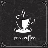 Coffee design  for menu Stock Photos