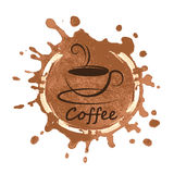 Coffee design over background vector illustration Stock Photo