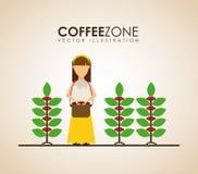 Coffee design Stock Photography