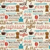 Coffee design Stock Images