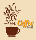 Coffee design Royalty Free Stock Images