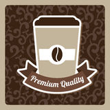 Coffee design Royalty Free Stock Image