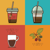 Coffee design Royalty Free Stock Photo