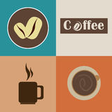 Coffee design Stock Photography