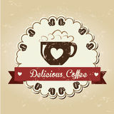 Coffee design Royalty Free Stock Photos