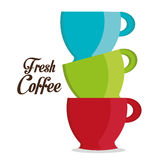 Coffee design. Royalty Free Stock Photography