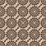 Coffee design seamless pattern 9. Decorative seamless coffee pattern. Illustration of coffee grains design Royalty Free Stock Images