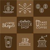 Coffee design set Royalty Free Stock Image