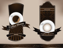 Coffee design templates Royalty Free Stock Image