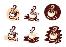 Coffee Designs Royalty Free Stock Images