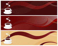 Coffee Designs Stock Images