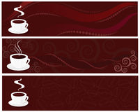 Coffee Designs Stock Photography