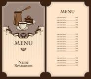 Coffee and dessert Stock Image