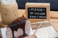 Coffee and dessert Royalty Free Stock Photos