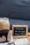 Coffee and dessert Stock Photography