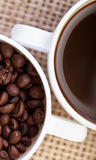 Coffee detail Stock Photography