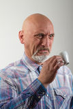 Coffee disgusting Royalty Free Stock Photo